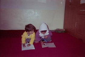 Rita, professeure de dari et d'éducation civique au lycée Malalaï