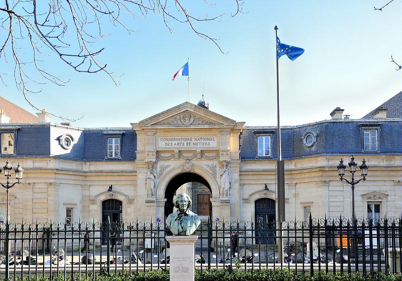 Entree du Cnam rue Saint-Martin
