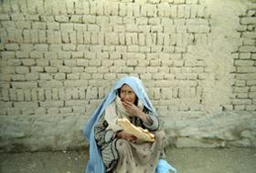 Massouma, enseignante de dari au lycée Azrat Osman