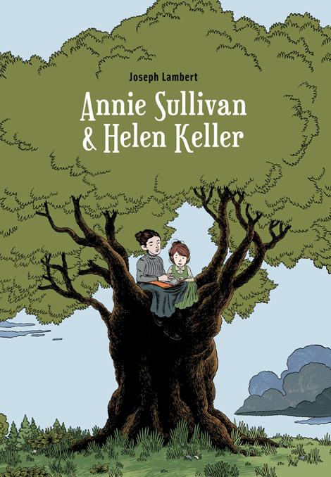Annie Sullivan et Helen Keller de Joseph Lambert