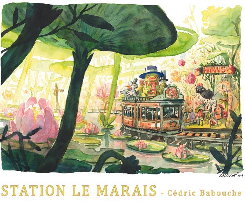 Cédric Babouche (Station 9e art)