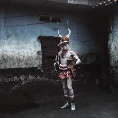 Catcheur congolais- Copyright Colin Delfosse