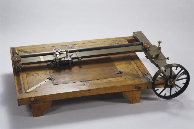 Machine à graver les ciels et les fonds, 1803