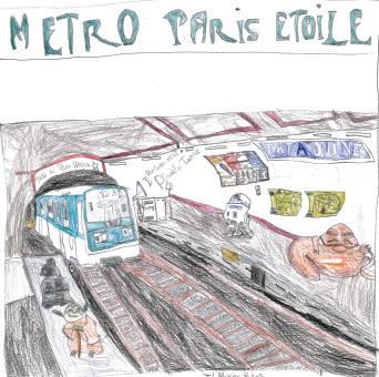Station 9e art, vu par Jad