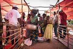 Première urgence internationale au Katanga