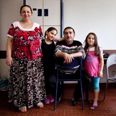 Famille Kolupar - photo Mara Klein
