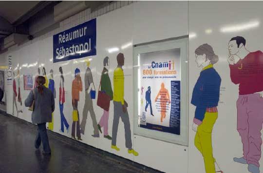 Ligne 4 - Intérieur rénové en 2005 - Photo Gérard Dumax