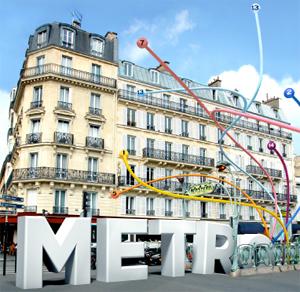 métro, ticket pour une expo