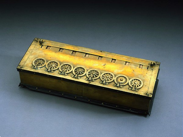 Pascaline: machine à calculer de Blaise Pascal (Musée des arts et métiers- Cam)