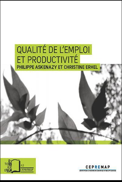 Qualité de l'Emploi et Productivité-Philippe ASKENAZY