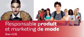 Formation de Responsable produit et marketing de mode