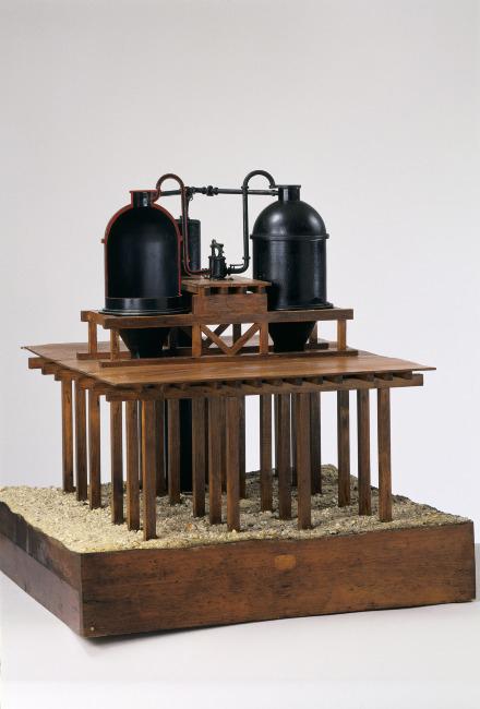 Fondation système Potts, 1856