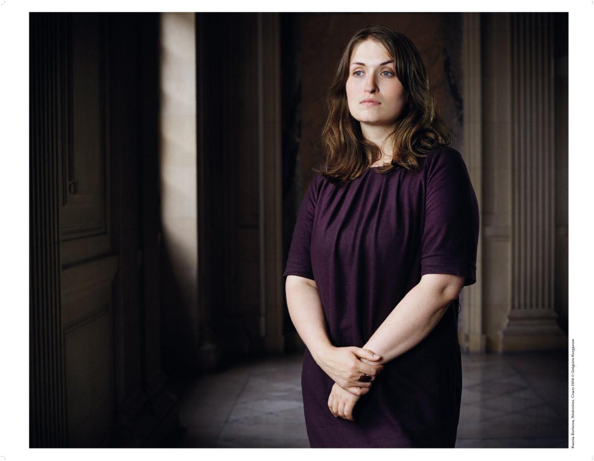 Xenia Borisova, photographie de Grégoire Korganow