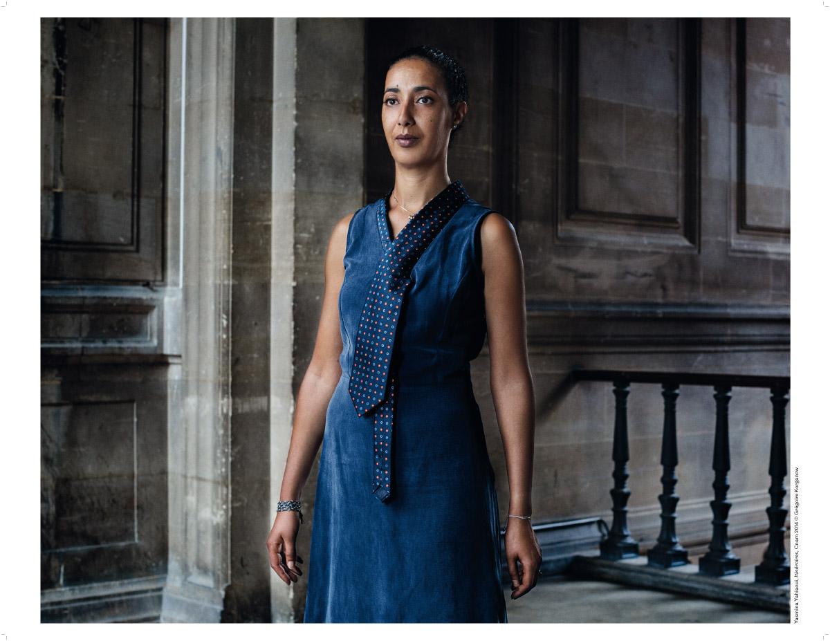 Yasmina Yahiaoui,  photographie de Grégoire Korganow